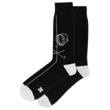 Men's Face Figure Crew Socks thumbnail