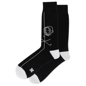 Men's Face Figure Crew Socks