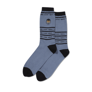 Men's King Tiger Embroidered Socks