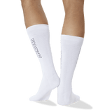 Men's Color Names Crew Socks in White