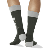 Men's Libra Zodiac Socks in Olive