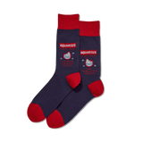 Men's Aquarius Zodiac Socks