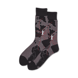 Men's World Map Crew Socks thumbnail