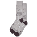 Men's Travel Visas Crew Socks thumbnail