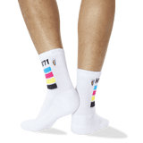 Men's HS '71 Quarter Socks in White