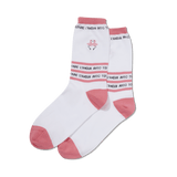 Women's Flamingo Embroidery Socks thumbnail