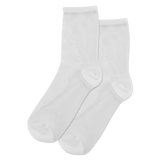 Women's Speckled Sheer Crew Socks