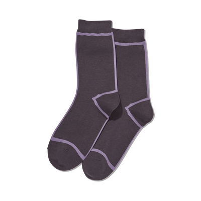Women's Front and Back Stripe Socks