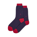 Women's Standout Dots Crew Socks thumbnail