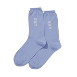 Women's Color Names Crew Socks