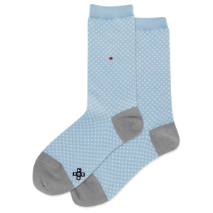 Women's Tiny Dots Crew Socks