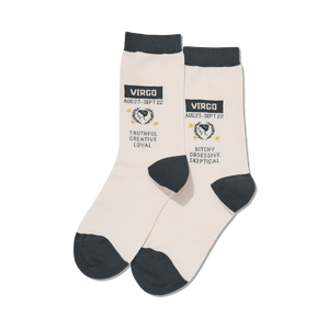Women's Virgo Zodiac Socks