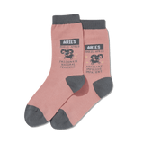 Women's Aries Zodiac Socks thumbnail