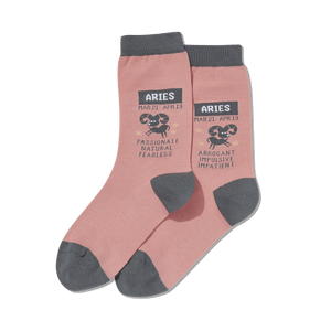 Women's Aries Zodiac Socks