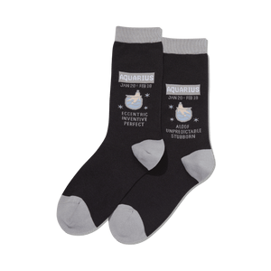 Women's Aquarius Zodiac Socks