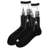Women's NYC Skyline Crew Socks thumbnail
