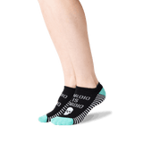 Women's Cardio is Hardio Ankle Socks in Black Front thumbnail