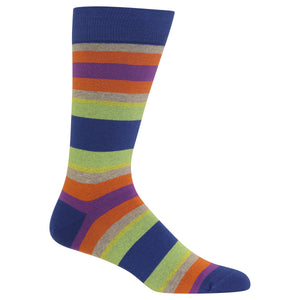 Men's Serape Stripe Crew Socks
