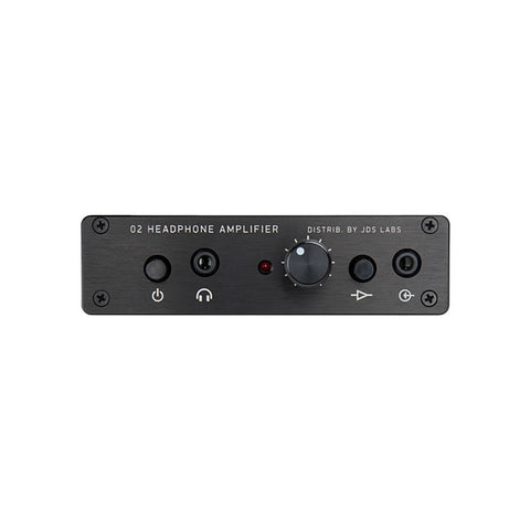 JDS Labs Objective2 Headphone Amplifier (Black Edition - Custom Spec)
