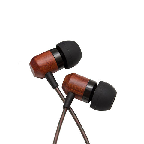 Shozy Zero Wooden In-Ear Headphones (Brazilian Rosewood)