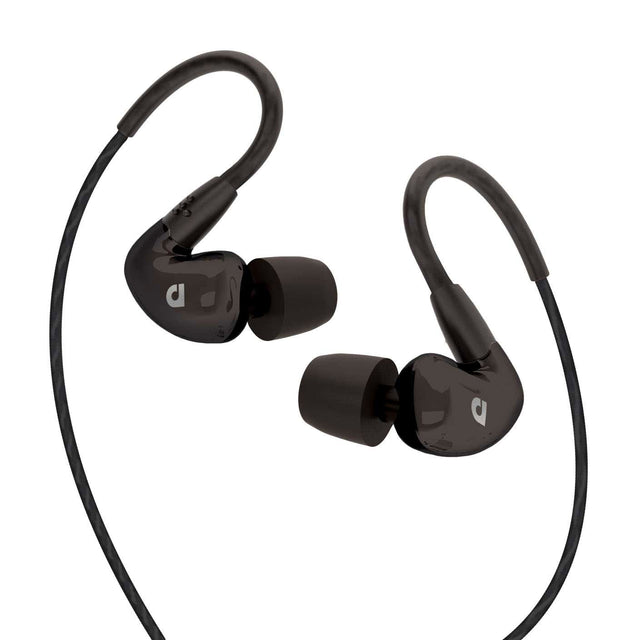 Audiofly AF100C In-Ear Monitors w/Mic and Remote (Black)