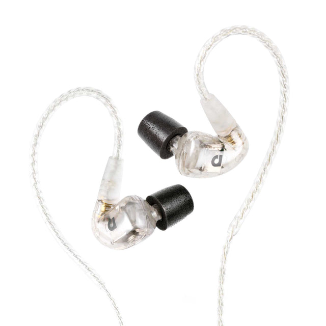 Audiofly AF1120 Six-Driver In-Ear Monitors (Clear)