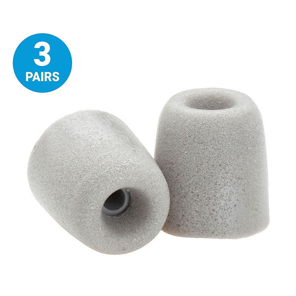 Comply T-500 Isolation Foam Tips (3 Pairs - Medium)