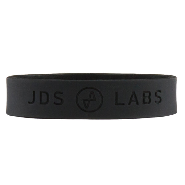 JDS Labs Silicon Wrist Bands (Pair) - Black