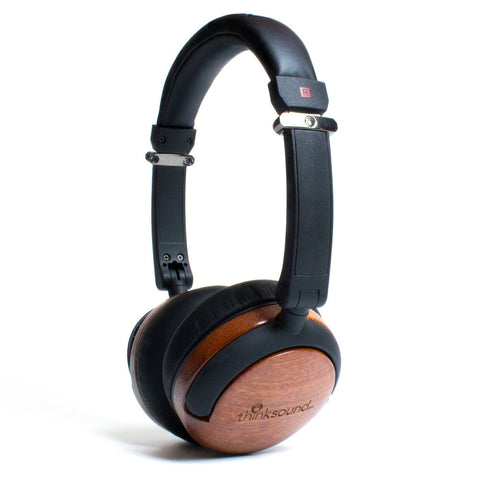 thinksound On2 On-Ear Studio Monitor Wooden Headphones