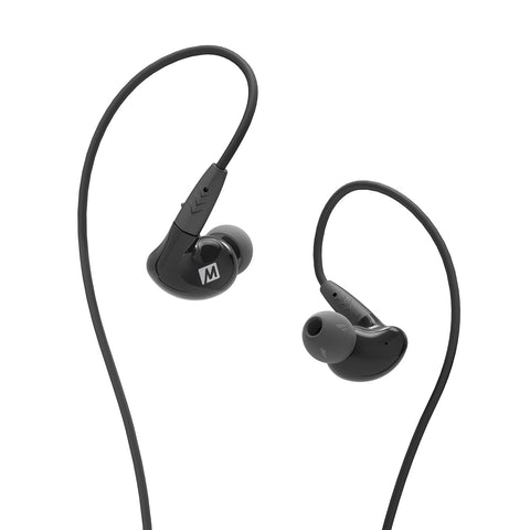 MEE audio Pinnacle P2 High Fidelity Audiophile In-Ear Headphones (Black)