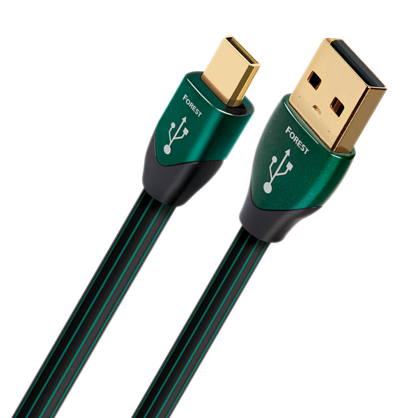 AudioQuest Forest Digital Audio USB Cable (USB A to Micro USB Plug)