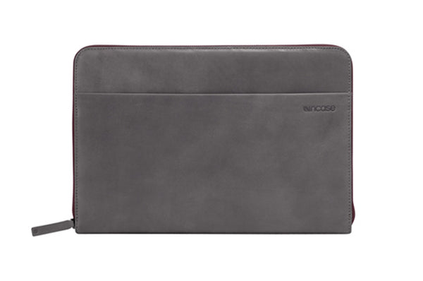 Incase Premium Genuine Leather Sleeve for MacBook Air 11-inch (Dark Grey)