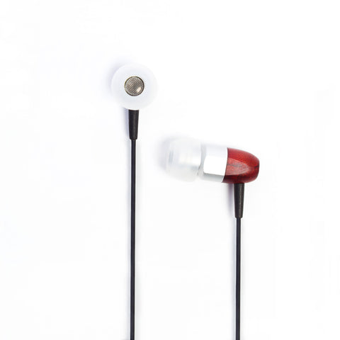 thinksound ts02 8mm In-Ear Wooden Headphones