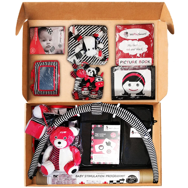 DELUXE BABY STIMULATION KIT with 22 Educational tools (free shipping in RSA) - Weplaysmart