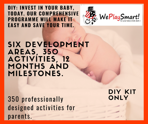 Baby Stimulation Program (free Math's program & shipping in RSA) DIY program with picture book - Weplaysmart RSA