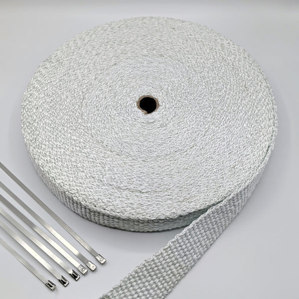 30M Glass Exhaust Wrap (550°C)
