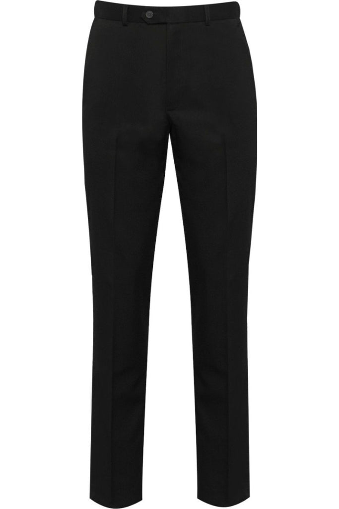 Blue Max Banner Aspire Boys Flat Front Trousers 1JF Black