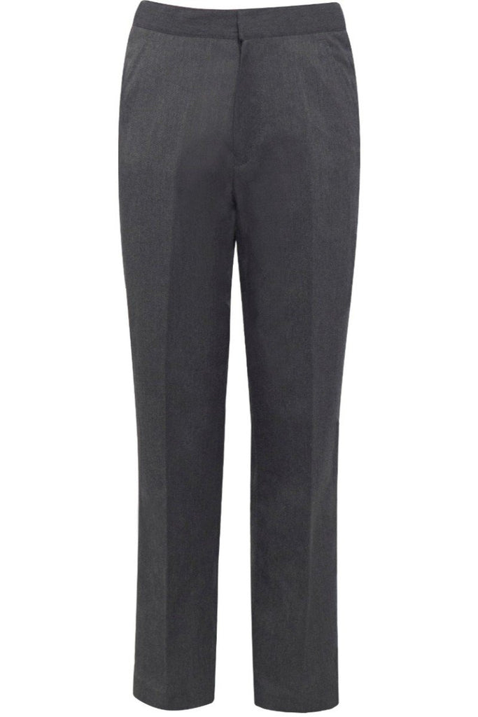 Blue Max Junior Flat Front Trouser 1K6 Grey