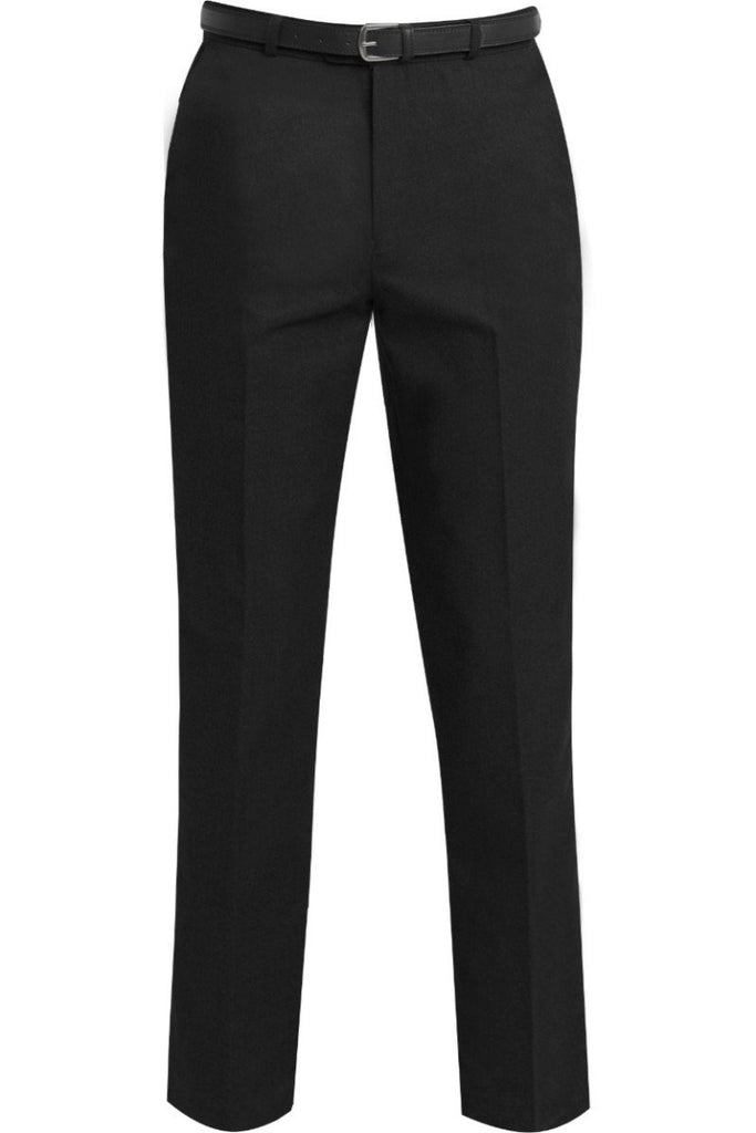 Blue Max Banner Junior Falmouth Flat Front Trouser 1K8 Black