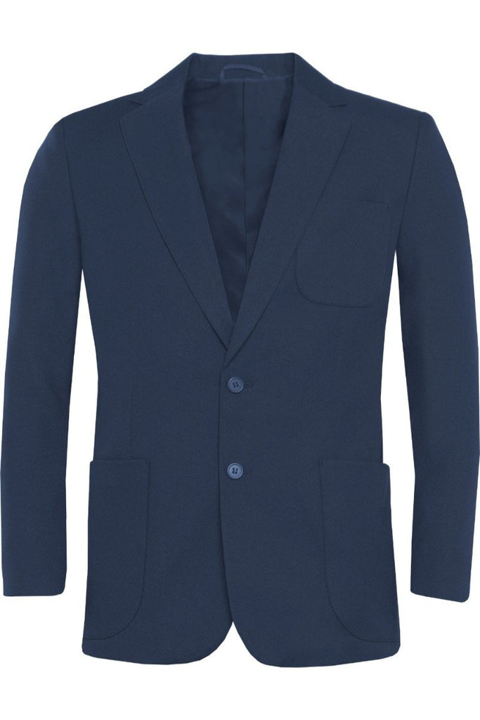 Blue Max Banner Junior Ziggys Boys Zip Entry Blazer 1UA Academy Navy