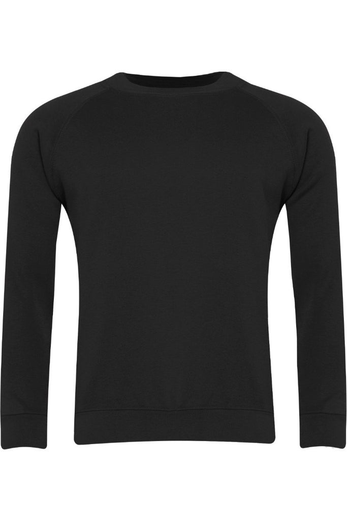 Blue Max Banner Junior Classic Crew Neck Sweatshirt 3SX Black