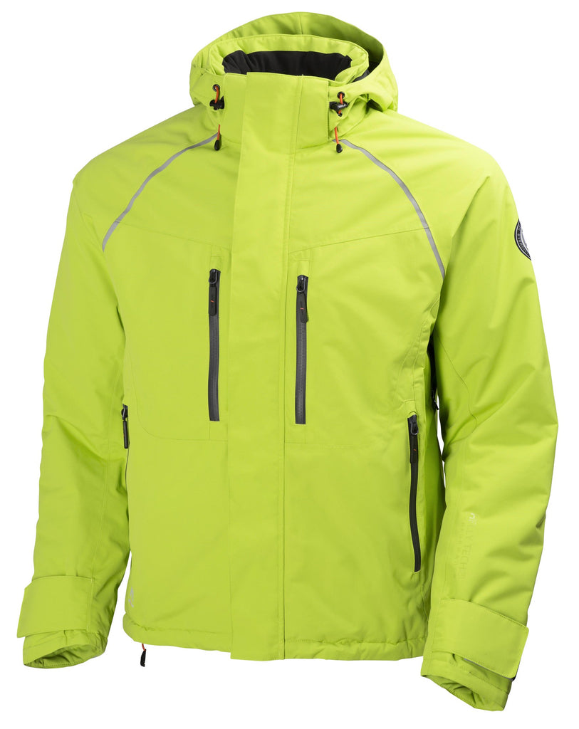 Helly Hansen Arctic Insulated Waterproof  Winter Jacket 71335 Lime green yellow