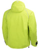 Helly Hansen Arctic Insulated Waterproof  Winter Jacket 71335 Lime green yellow rear back view