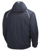Helly Hansen Arctic Insulated Waterproof  Winter Jacket 71335 navy blue rear back view