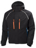 Helly Hansen Arctic Insulated Waterproof  Winter Jacket 71335 black orange front view