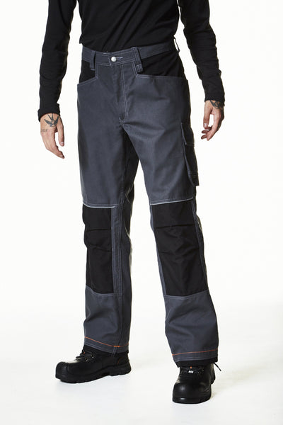 Helly Hansen Chelsea Work pant 76451 dark grey black front view image