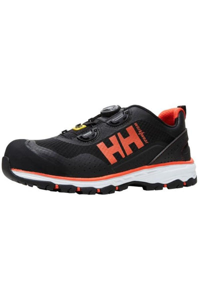 Helly Hansen Chelsea Evolution Boa Safety Shoe 78224 Black Orange front view