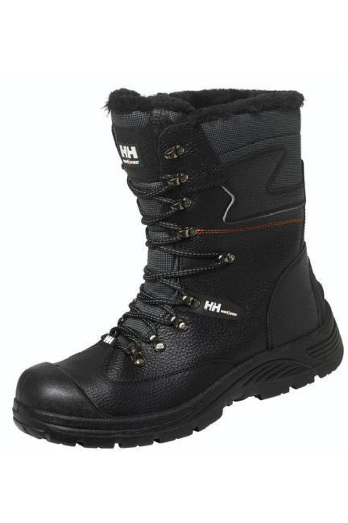 Helly Hansen Aker WW Safety WinterBoot 78313 Black front view