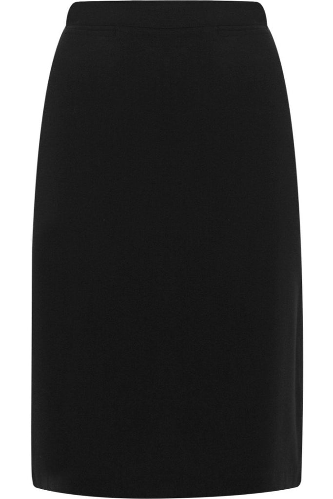 Blue Max Banner Luton Straight Pleat Skirt 913598 Black