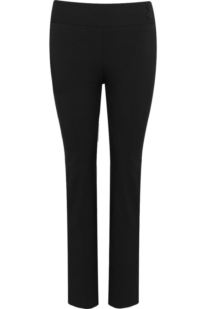 Blue Max Banner Junior Kirby Girls Junior Trouser 913625 Black